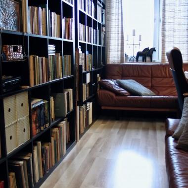 ...i reszta książek i kanap: D.