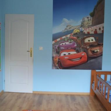Błękitny pokój chłopięcy - metamorfoza