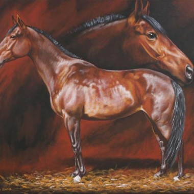 Konie - malarstwo, obrazy