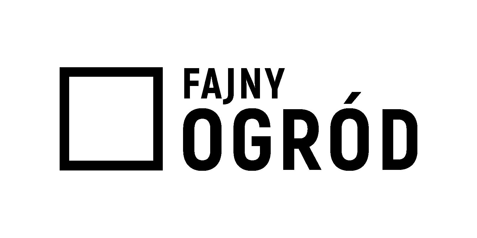 fajny ogród logotyp