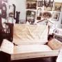 Salon, Reorganizacja salonu - Sofa po rozłożeniu