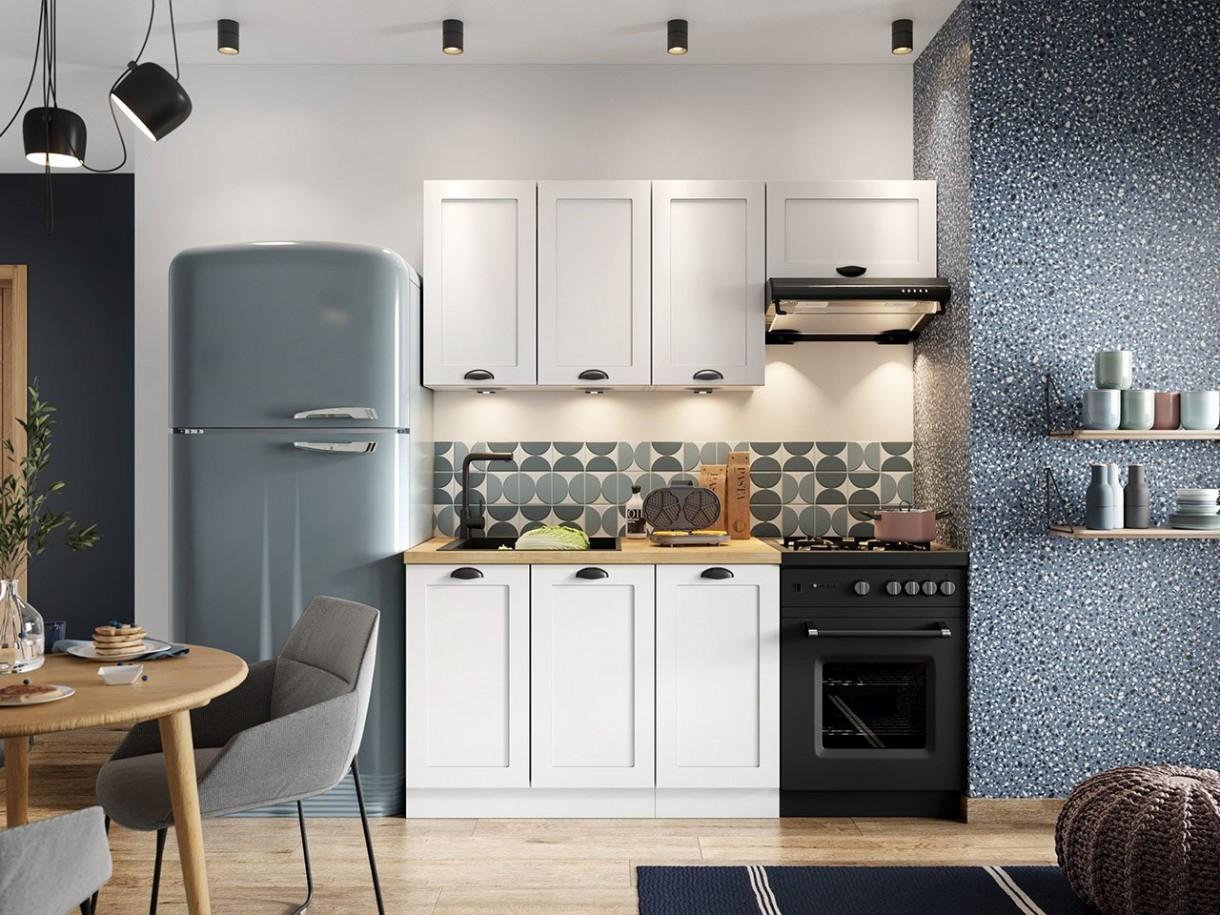 Kuchnia, Aneks kuchenny - Aneks kuchenny to coraz częściej spotykane rozwiązanie w domach. Wydzielona zazwyczaj w salonie przestrzeń musi spełniać kilka ważnych funkcji: - przechowywanie zapasów żywnościowych oraz akcesoriów kuchennych, - umożliwianie przygotowywania posiłków, oraz najważniejszą funkcję, jaką jest funkcja dekoracyjna. Piękne i kompaktowe kuchnie dedykowane małym aneksom kuchennym znajdziecie na stronie naszego sklepu - www.mirjan24.pl