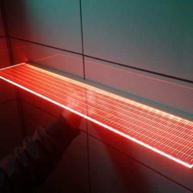 Półka Led Crystal RGB