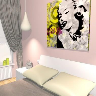Sypialnia w Toruniu