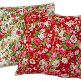 Ręcznie uszyte poszewki na poduszki 100% len