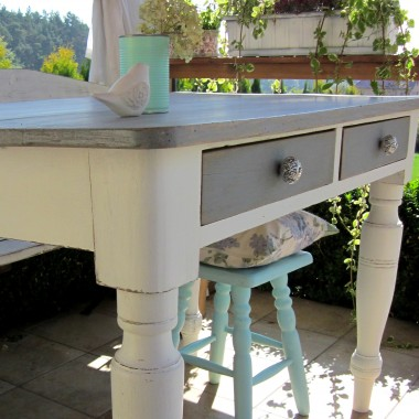 Moje metamorfozy - stół.