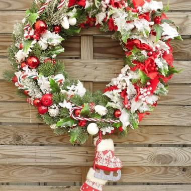 wianek świąteczny ze sklepu HyggeDom, dostępny online, zapraszamy.