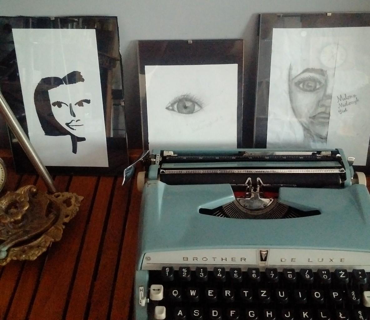 Salon, Salon - Mini galeria rysunków autorstwa mojej 9 letniej córki