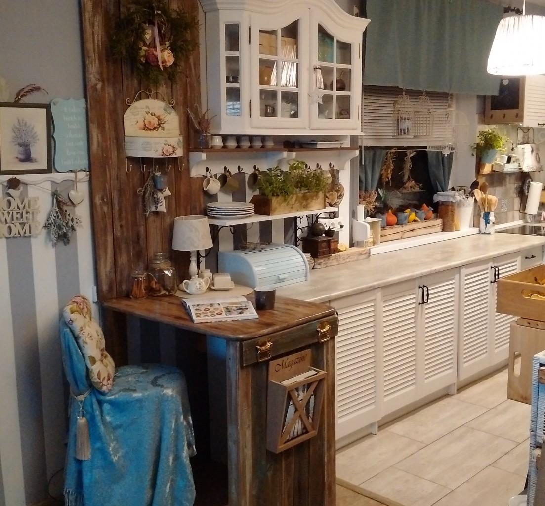 Pozostałe, Kuchnia - Barek mojego autorstwa. Drewno z odzysku, koszt minimalny.
