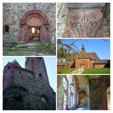 """Pisarzowice - opuszczony kościółek ewangelicki.Kościółek drewniany """"na Pólku pod Bralinem"""""""