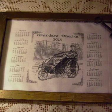 ...kalendarz dla Babci i Dziadka