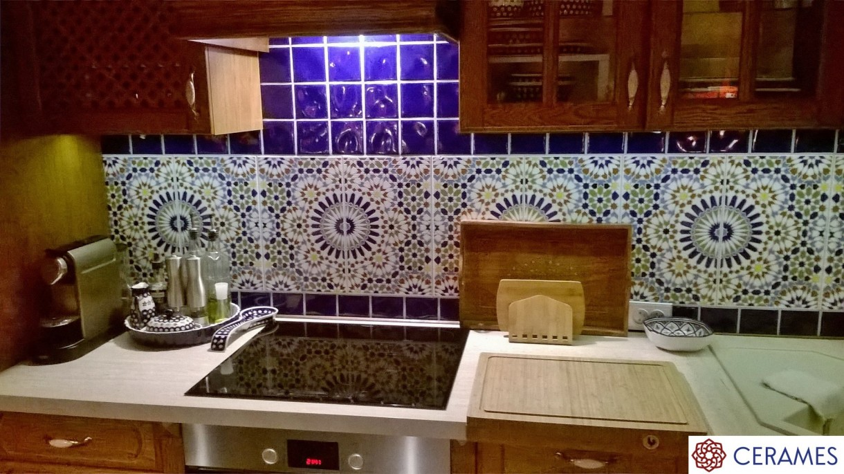 Zdjęcie 13 W Aranżacji Orientalne Kafle W Twojej Kuchni