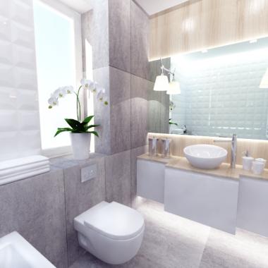 Łazienka w szarości