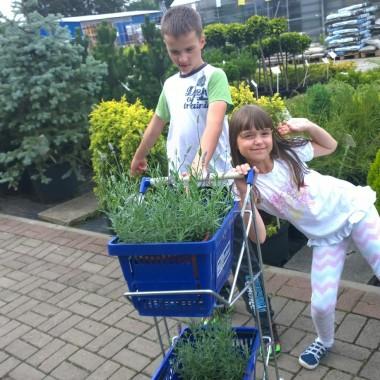 wypady po roślinki to uwielbiamy:)