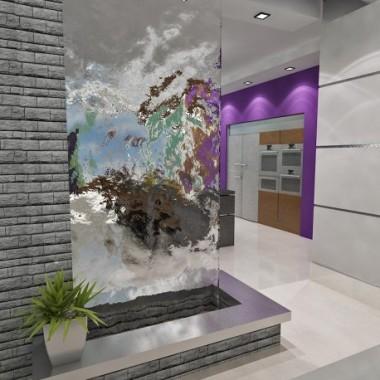 ściana wodna ściany wodne