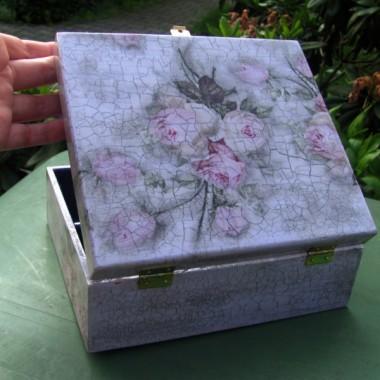Decoupage szkatułki, pudełka, lampiony
