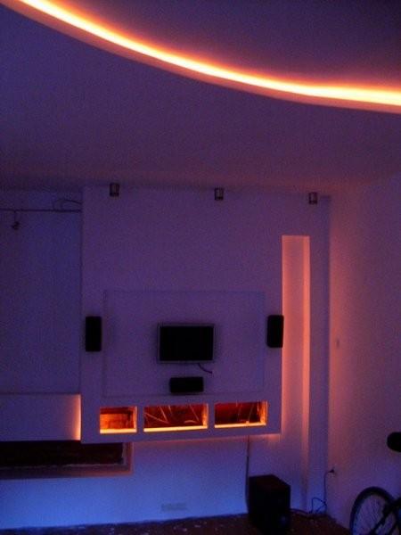 Pozostałe, ReMONT - Podświetlenie ściany i sufitu