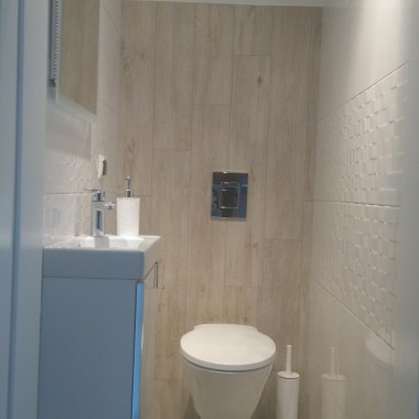 Bardzo mała toaleta