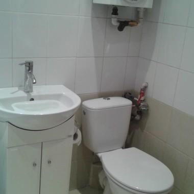 Łazienka, czerń&biel