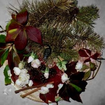 kilka kompozycji jesiennych rodem z mojego ogrodu