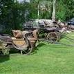 Kolekcja starych zaprzęgów konnych