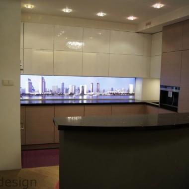 Kuchnia z panelem LED