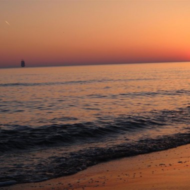 Spacer brzegiem morza - Kołobrzeg