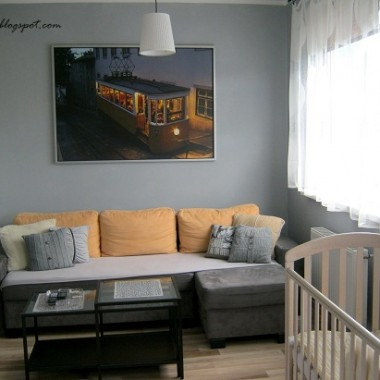 17m2 salonu,sypialni i pokoju dziecinnego:)