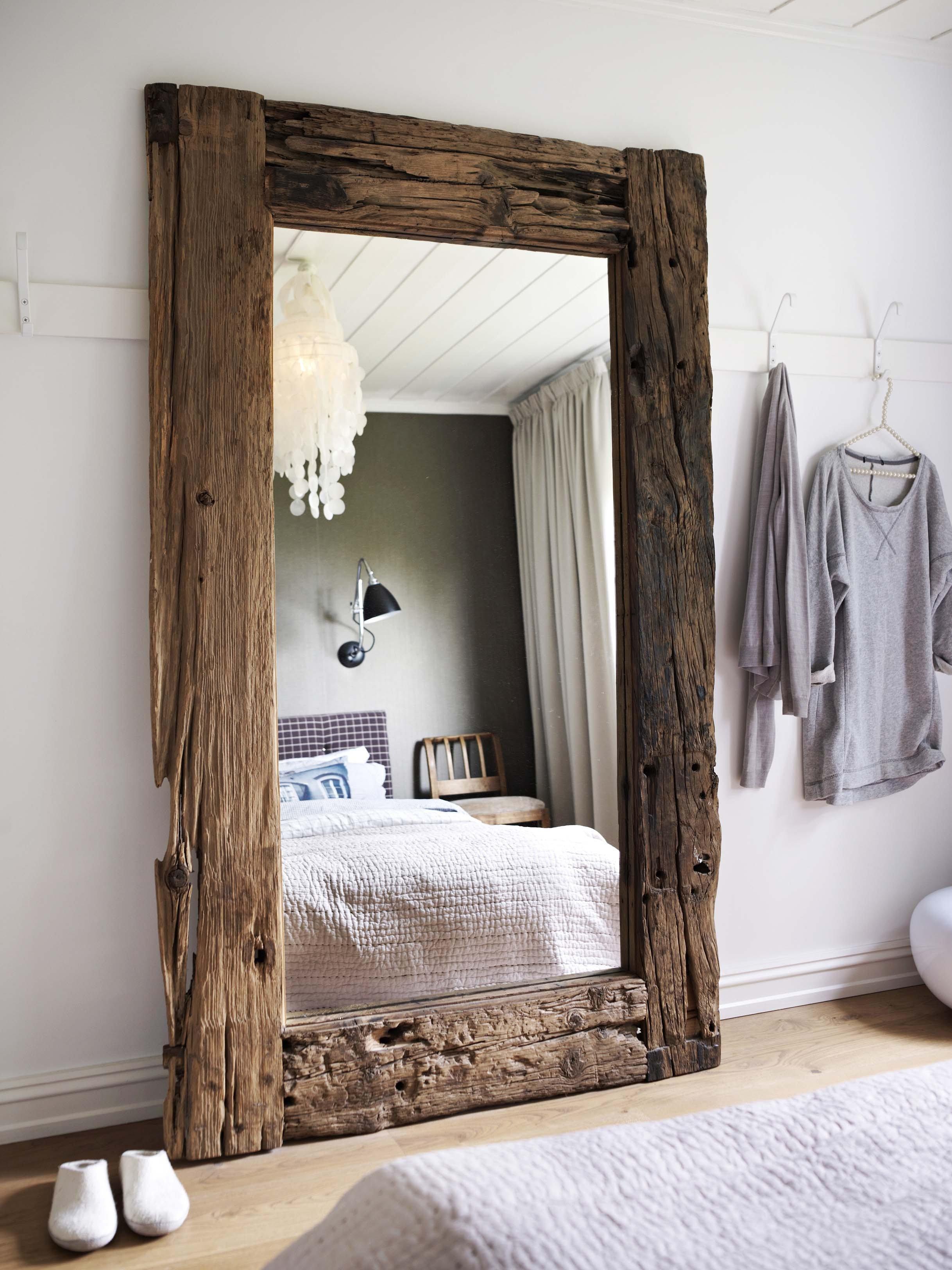 slaapkamer spiegel eyecatcher