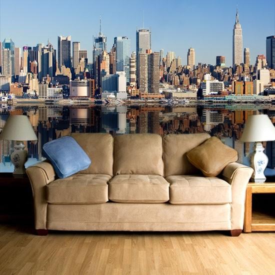 Pozostałe, Dekoracje z Nowym Jorkiem - Panorama Nowego Jorku za dnia.