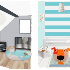 Wiosenne dodatki do pokojów dziecięcych