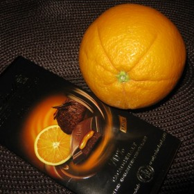 czekolada i pomarancz