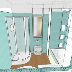 Pomóżcie - projekt łazienki (własnoręczny)