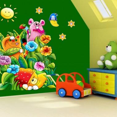 Oświetlenie pokoi dziecięcych