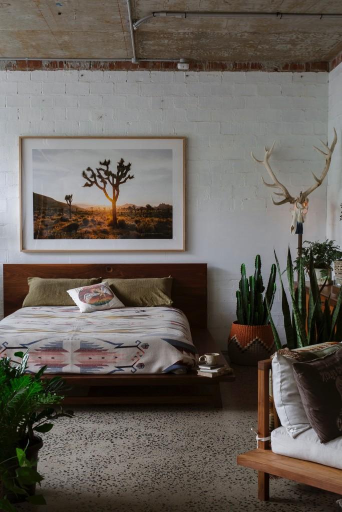 Sypialnia, Mieszkanie myśliwego