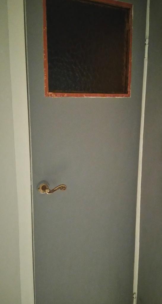 Zrób to sam, Metamorfoza starych drzwi z szybą - Drzwi przed metamorfozą