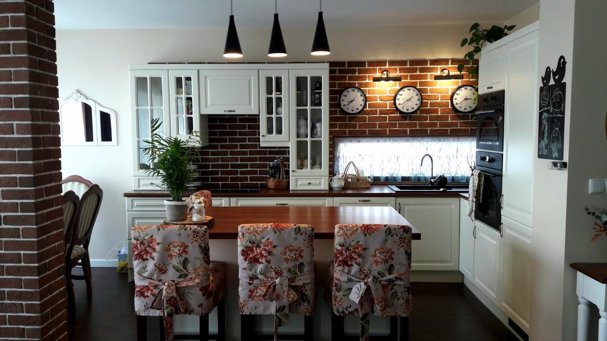 Moja kuchnia/salon po 3 latach... :)