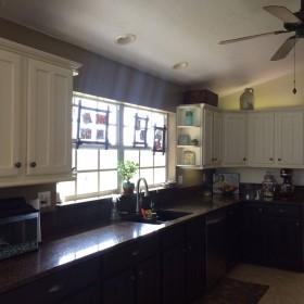 Fronty kuchenne pomalowane farbami kredowymi