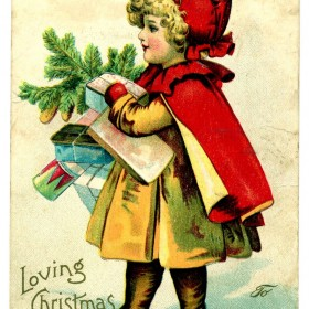 Stare pocztówki świąteczne