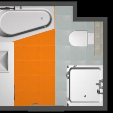 Nowe M - łazienka i WC
