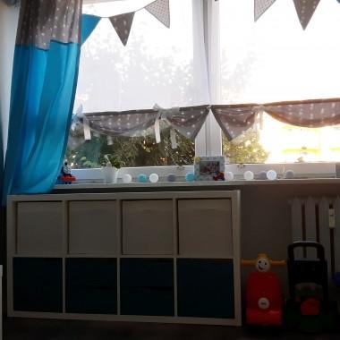 Przyszedł taki moment kiedy postanowiliśmy z mężem oddać naszą sypialnię synkowi. I tak powstał mój plan a wykonał go mąż. Oto efekt. :)