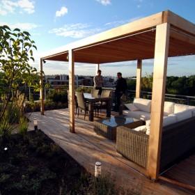 Ogród na dachu - Warszawa