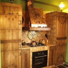 Stylowe rustykalne kuchnie w zabudowie