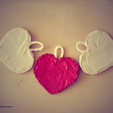 Jak z gipsu zrobic ozdobne serce