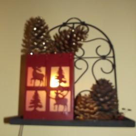 Świąteczne dekoracje w moim domu