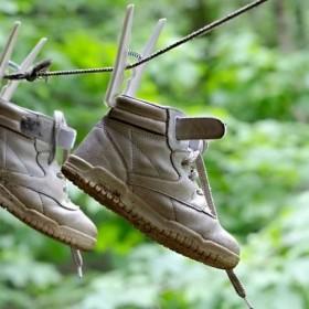 Sposoby na przemakające buty!