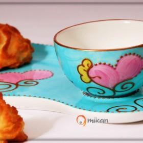 Mikan: porcelana Limoges - zestawy Gourmand
