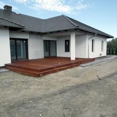 Taras drewniany w Gorzowie