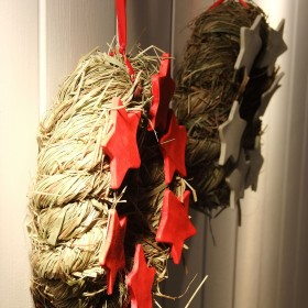 Patriotyczne wianki dla Ekhart :-))))))