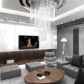 The One - projekt wnętrza domu